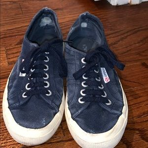 USED SUPERGA SNEAKERS size 8